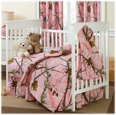 Attributes Description Ed Sheet Pattern Realtree Apc Pink Id 256909 3 Pc Crib Set