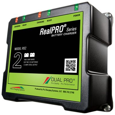 Pro Charging Systems Dual Pro Realpro Battery Charger