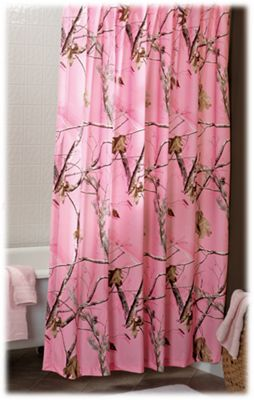 Bass Pro Shops Realtree APC Pink Collection Shower Curtain | Bass ...