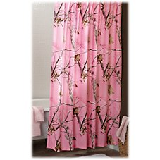 Bass Pro Shops Realtree APC Pink Collection Shower Curtain