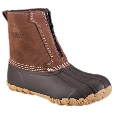 RedHead All-Season Classic II Zip-On Insulated Rubber Boots for Ladies