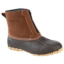 RedHead All-Season Classic II Zip-On Insulated Waterproof Rubber Boots for Men