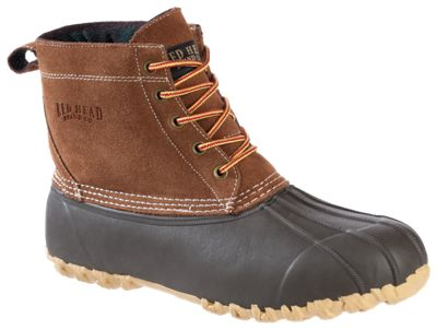 RedHead All-Season Classic II 5-Eye Lace-Up Insulated Boots for Men - 13 M