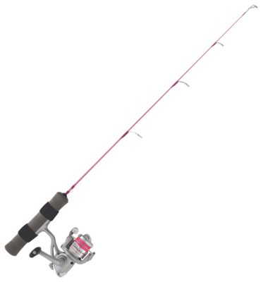 Clam Dave Genz Lady Ice Buster Ice Spinning Combo – Model 9575