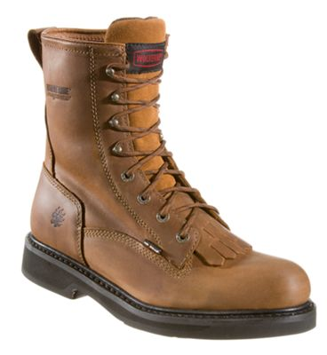24e98b165de Wolverine Ingham DuraShocks Kiltie Lacer Work Boots for Men 95 M