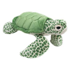 Wildlife Artists Conservation Critters Plush Stuffed Sea Turtle Toy