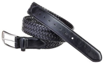 PGA TOUR Braided Stretch Belt-38,BLACK