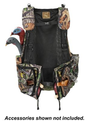 Ol' Tom Dura-Lite Time & Motion Camo Strap Turkey Vests for Men - Mossy Oak Obsession thumbnail