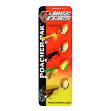 Joe's Flies Premium Spinnerfly Multi-Pack - 1/4 oz.