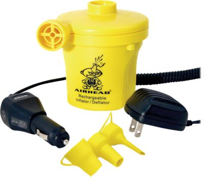Airhead Rechargeable 12V Watersports Air Pump