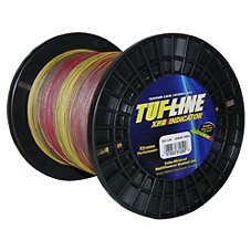 BRAIDED LINE 100 YARDS INDICATOR TUF LINE XP FISHING LINE-CLOSE OUT PRICING