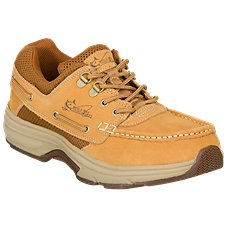 World Wide Sportsman Blue Water Boat Shoes for Men - Tan Image