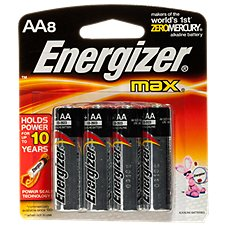Energizer Max AA Battery - 8 Pack