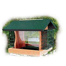 WoodLink Going Green Large Premier Bird Feeder with Suet Cages