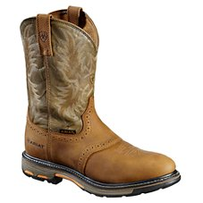 Ariat Workhog Pull-On Western Boots for Men