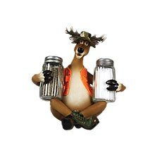 River's Edge Salt and Pepper Shakers - Deer