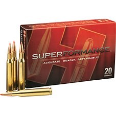 Hornady Superformance SST Centerfire Rifle Ammo Image