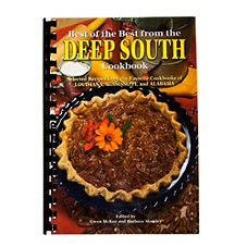 Best of the Best from the Deep South Cookbook by Gwen McKee and Barbara Moseley