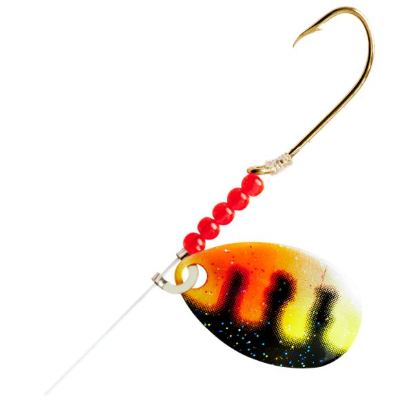 Little-Joe Red Devil Spinner - #2 - Perch