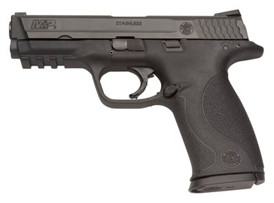 Smith & Wesson M&P9 Semi-Auto 9Mm Pistol With No Thumb Safety Ma Compliant by USA Smith & Wesson Pistols