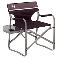 Coleman Aluminum Deck Chair with Table