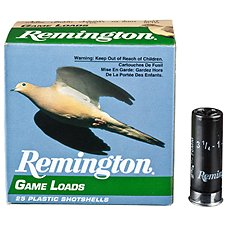 Remington Game Load Shotshells
