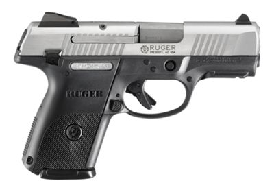 Ruger Sr9C Compact Semi-Auto Pistol With Stainless Slide 4 Lbs. by USA Ruger Pistols