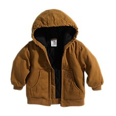 Carhartt Hooded Duck Active Jacket for Babies or Toddlers Image