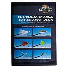 White River Fly Shop Handcrafting Effective Jigs Video with Lefty Kreh & Mike Huffman - DVD