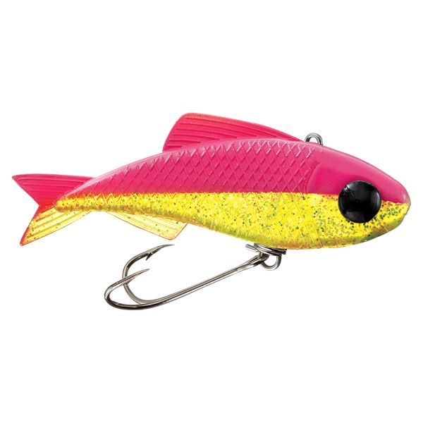 "Crme Saltwater Mad Dad Minnows - 2.5"" - Electric Chicken"
