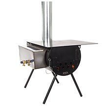 Colorado Cylinder Stoves Spruce Tent Stove Package