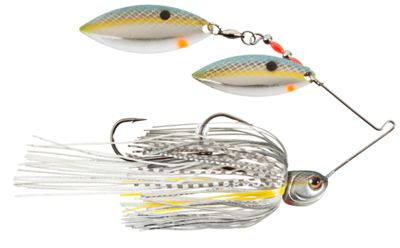 Strike King KVD Painted Blade Spinnerbaits - Double Willow