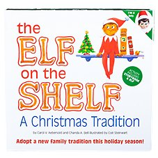 The Elf On The Shelf Elf, Book, and Keepsake Box Set for Boys