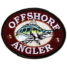 Offshore Angler Outdoorsman Fishing Patch