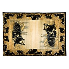 Lodge-Themed Area Rugs - Time to Play