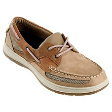 World Wide Sportsman Nantucket III Boat Shoes for Men - Tan/Biege