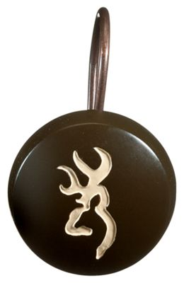 Browning Bathroom Accessories Shower Curtain Hooks
