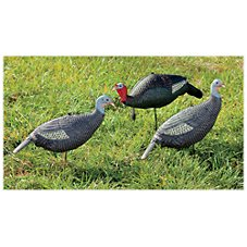 RedHead Foam Turkey Decoy 3-Pack