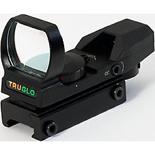 TRUGLO Dual Color Open Red Dot Sight
