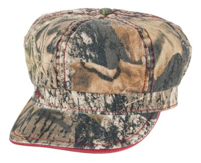 b9c87ee17de19 Bass Pro Shops Mossy Oak Camo Cabbie Cap for Girls Mossy Oak Break UpMaroon