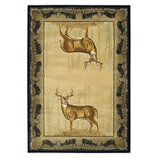 Buck Wear Wildlife -Themed Area Rugs - Believe Deer