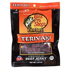 Bass Pro Shops Uncle Buck's Premium Beef Jerky - Teriyaki