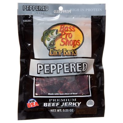 Bass Pro Shops Uncle Buck's Premium Beef Jerky - Peppered