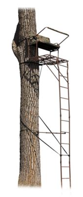 API Outdoors Ultra-Steel 2-Person 18' Ladder Stand thumbnail