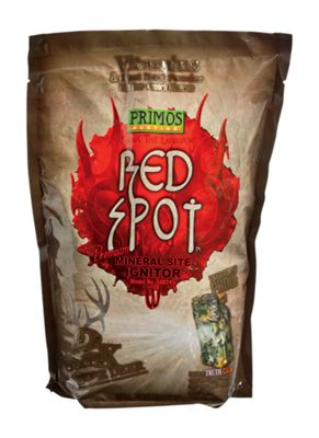 Primos Red Spot Premium Mineral Site Ignitor Deer Attractant