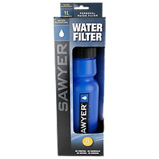 Sawyer Water Treatment Bottle with Internal Filter