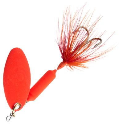 Worden's Original Rooster Tail – 1/8 oz. – Fluorescent Red