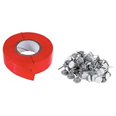 HME Products Trail Ribbon with Tacks