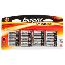 Energizer Lithium 123 Batteries - 12-Pack