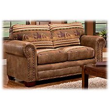 The Lodge Collection Love Seat